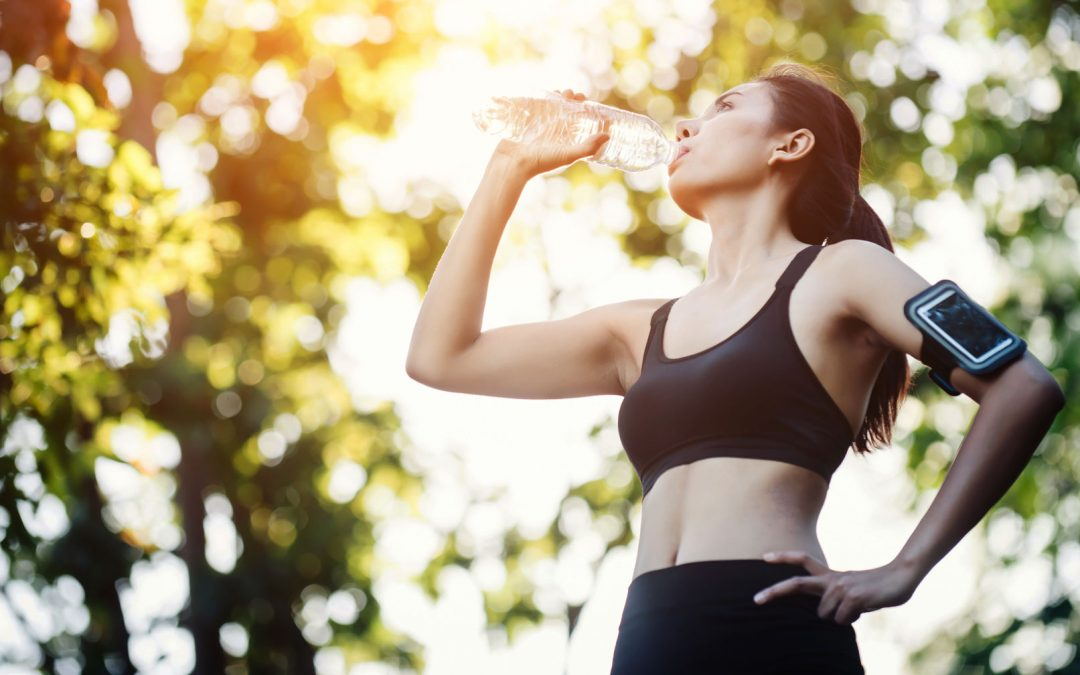 Staying on the pace in summer with proper hydration